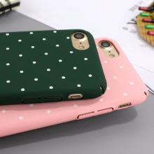 Dot Wave Point Phone Case For iPhone 6 6s 7 7plus 8 8plus