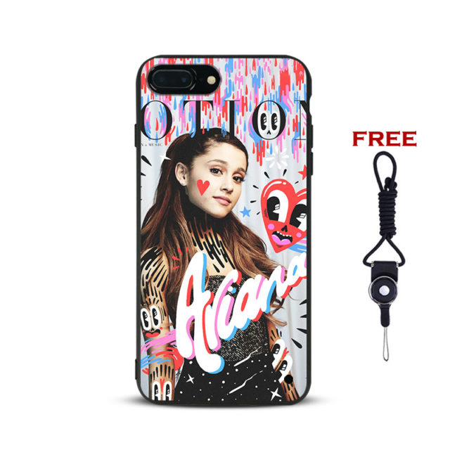 ARIANA GRANDE Phone Case For iPhone 5 5S SE 6 6S 6Plus 6sPlus 7 7Plus 8 8Plus X