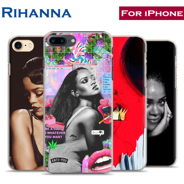 Rihanna Phone Case For iPhone 7PLUS 7 6SPLUS 6S 6PLUS 6 5 5S SE 4S 4