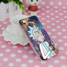 Rick And Morty Phone Case iPhone 4 4S 5 5S SE 5C 6 6S 7 8 X Plus