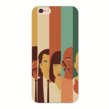 Pulp Fiction Movie Poster Phone Case For iphone 4G 4S 5G 5S SE 5C 6 6S 7 8 Plus 7Plus