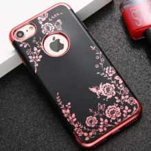 Fashion Flower Phone Cases For iphone 7 6 6s