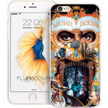 Michael Jackson Phone Case for iPhone X 7 8 Plus 5S 5 SE 6 6S Plus 5C 4S 4