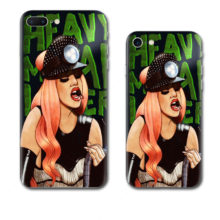 Lady Gaga Phone Case For iPhone 7 Plus 6 6S Plus 5S