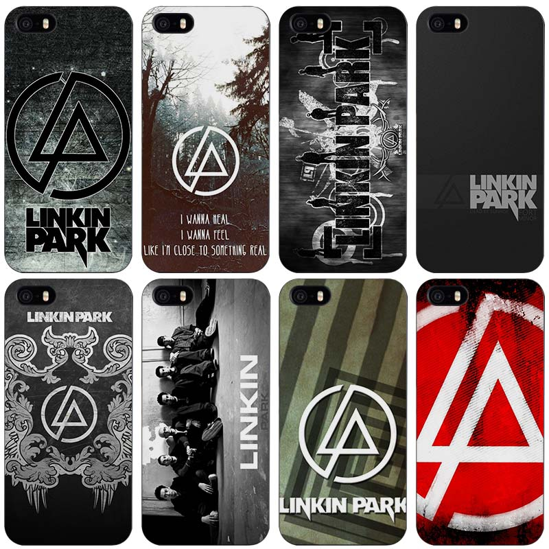 linkin park Black Plastic Case Cover Shell for iPhone Apple 4 4s 5 ...
