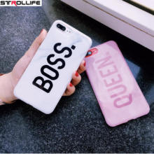 Queen & Boss Lovers Phone Case iPhone 6 7 7 Plus 8 X