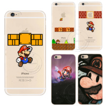 Super Mario Phone Case iPhone 5 5S SE 5C 6 6S 7 Plus 8 X