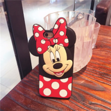 3D Minnie Mickey Mouse Phone Case iPhone 5 5s 6 6s 6S Plus 7 8 Plus X