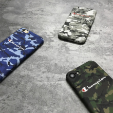 Champion Brand Camouflage Phone Case 6s 6 Plus 7 8 X XR XS Max