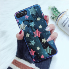 Laser Stars Phone Case iPhone 6 6s Plus 7 7 Plus 8 X