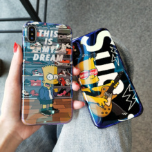 The Simpsons Phone Case iPhone 6 6s Plus 7 7 Plus 8 8 Plus X 10