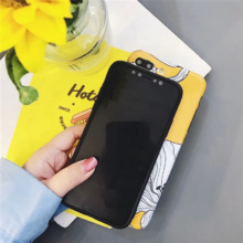 Yellow Floral Phone Cases iPhone 6 6s Plus 7 7 Plus 8 X