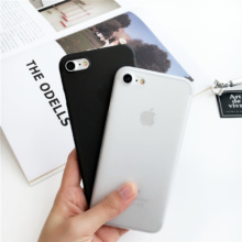Ultra Thin Transparent Phone Case iPhone 6 6s Plus 7 7 Plus 8 X