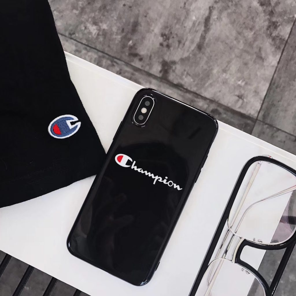 Black Champion iPhone Case